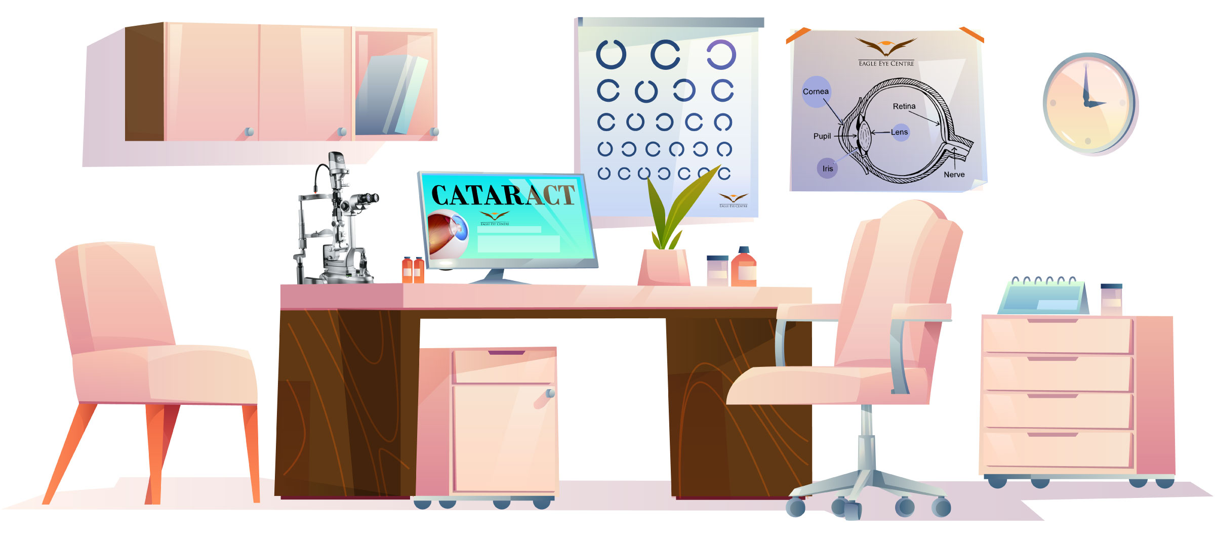 Image of eye clinic